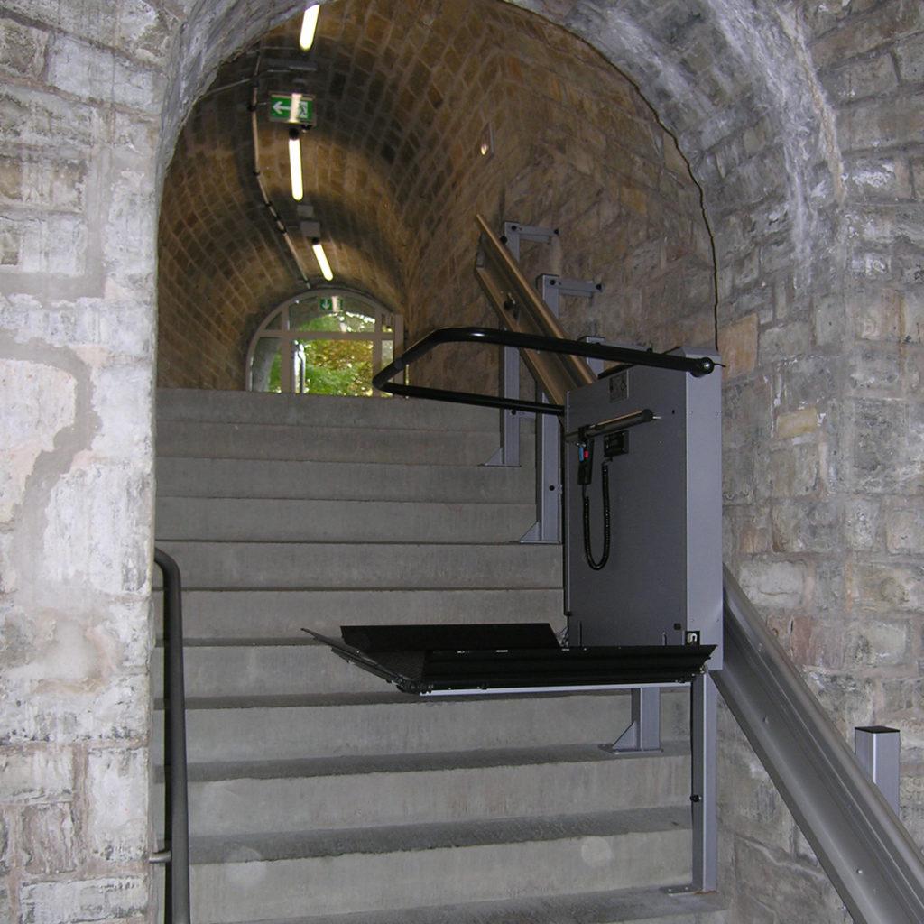 Trapphissar i historiska byggnader