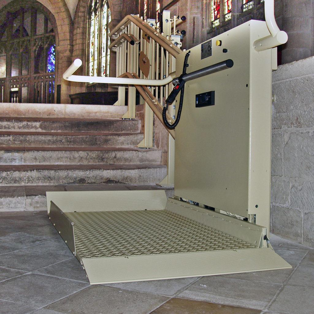 Trapphiss i katedralen i Gloucester