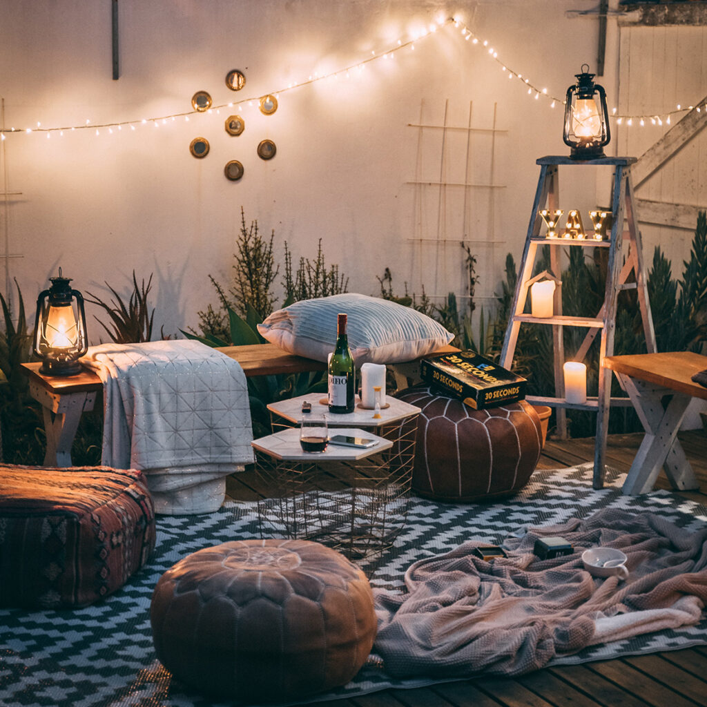 Decorate your decked area