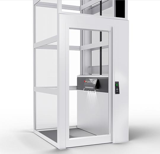 AL5 aluminium door