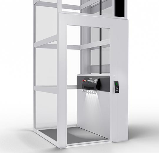 AL6 aluminium door
