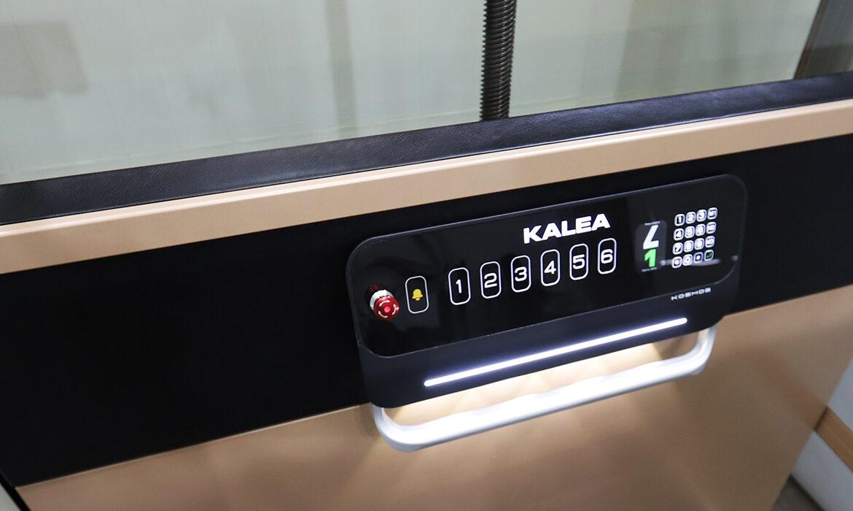 Kalea Kosmos X70 platform controls