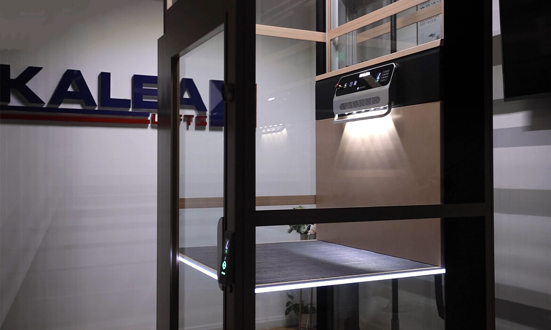 LED lift platform safety edge