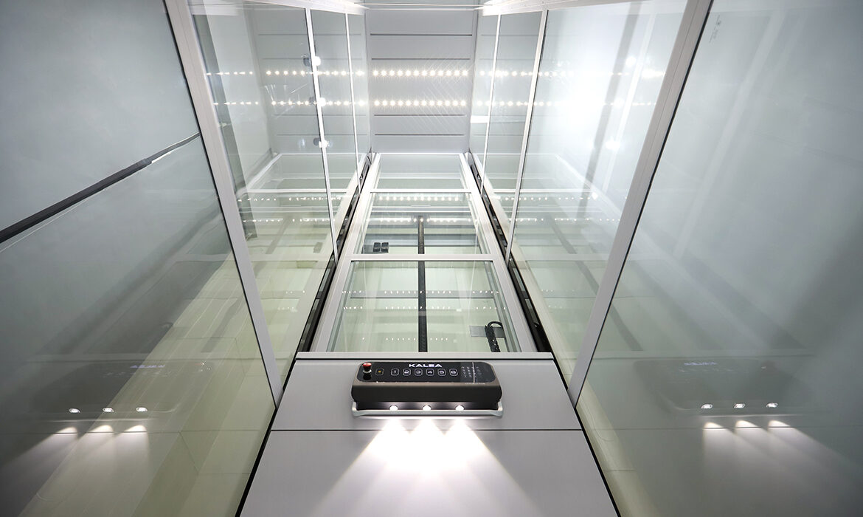 Platform lift video