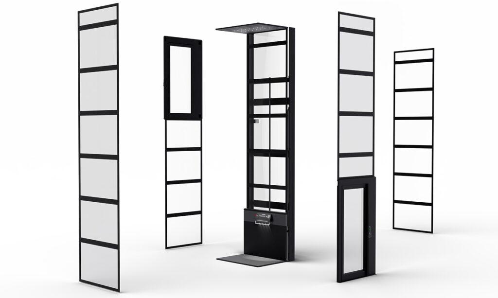 Modular platform lift concept by Kalea