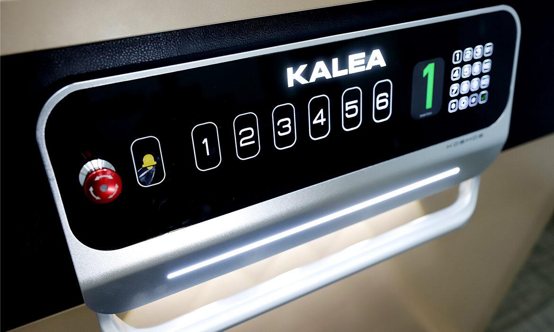 Platform control panel