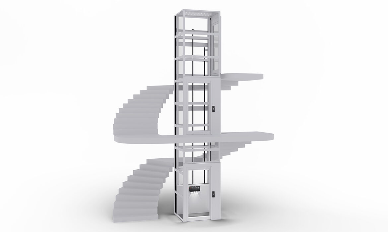 Platform lifts by Kalea have minimal structural impact