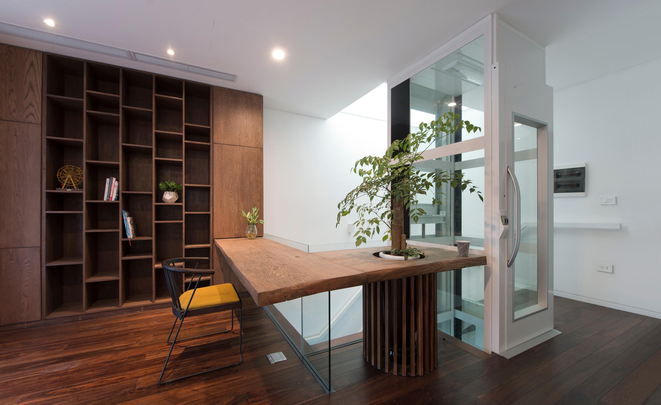 Compacte lift voor in huis