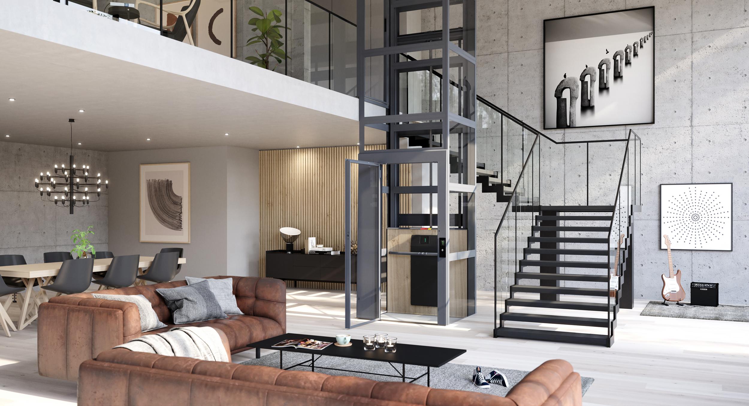 Huislift Air, elegant design